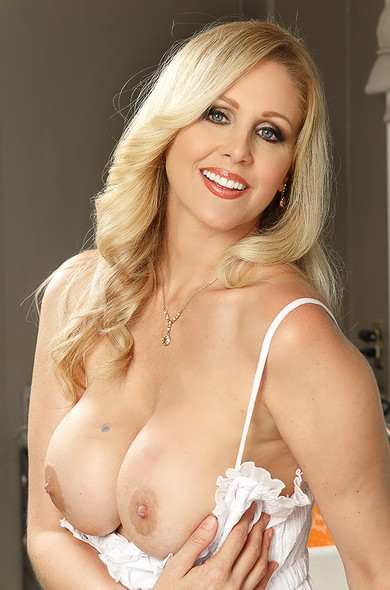 Julia ann really appreciates her grocery delivery man  he s always spot on and never forgets a thing  in order to thank him julia decides to give him a special tip by sticking his tip in her mouth  she has him bang her all over the kitchen counter  this w Julia Ann. Julia ann, seduced by a cougar, julia ann, danny mountain, client, cougar, kitchen, kitchen counter, american, average body, big dick, big tits, blonde, blow job, blue eyes, caucasian, deepthroating, facial, milfs, tattoos, trimmed,